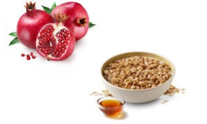Pomegranate and Oat Meal