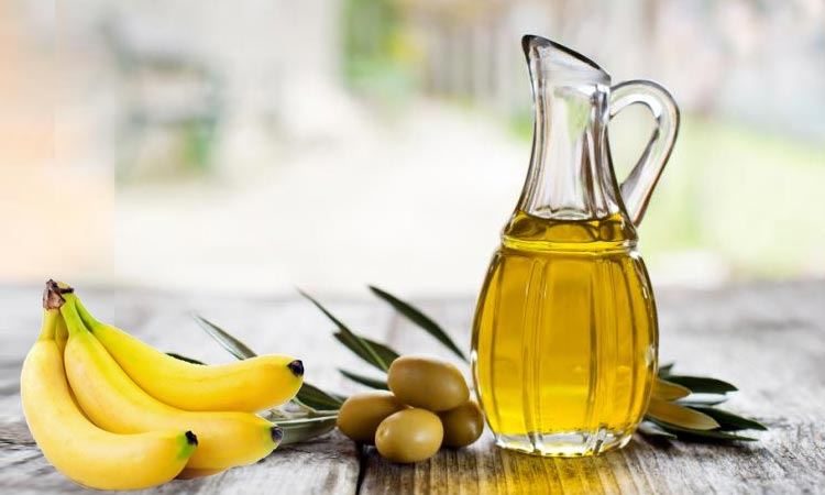 Banana and Olive Oil Mask