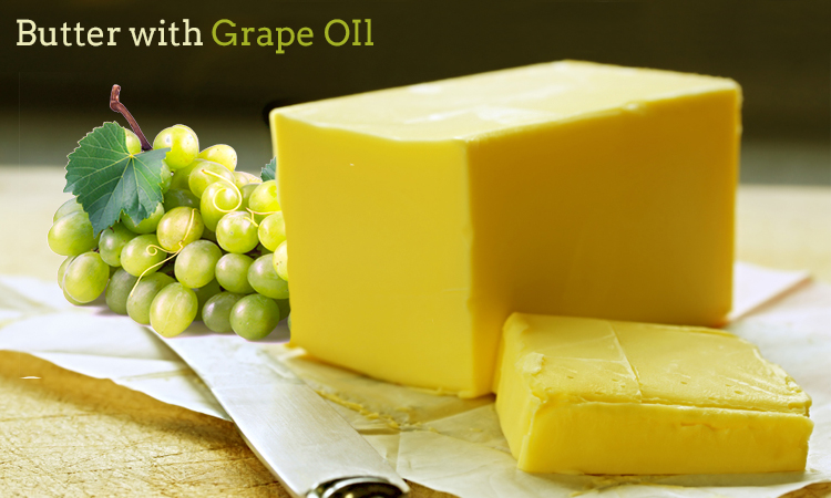 Butter With Grape Oil