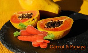 carrot and papaya