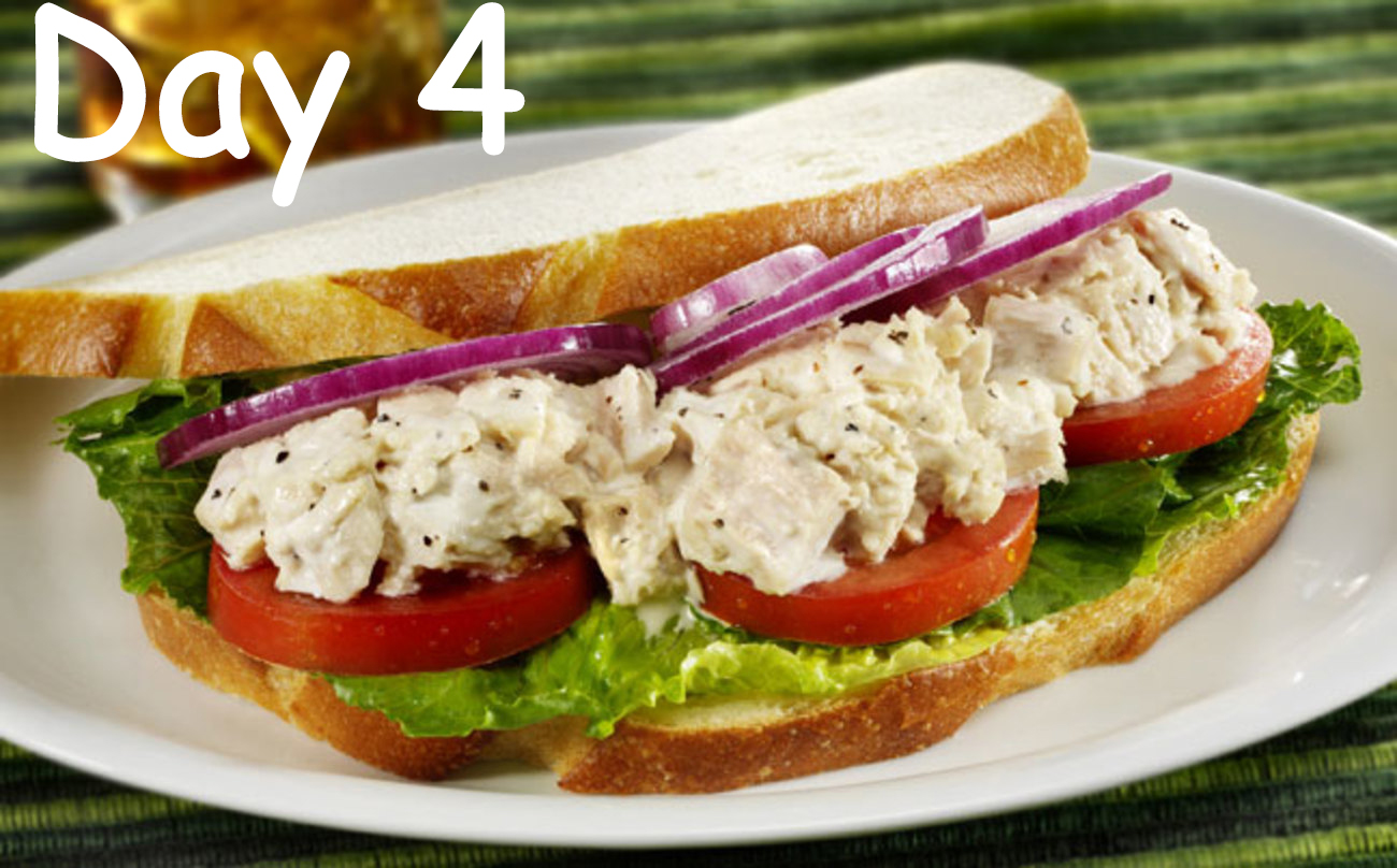 day4 ceaser Tuna sandwich - WomensByte