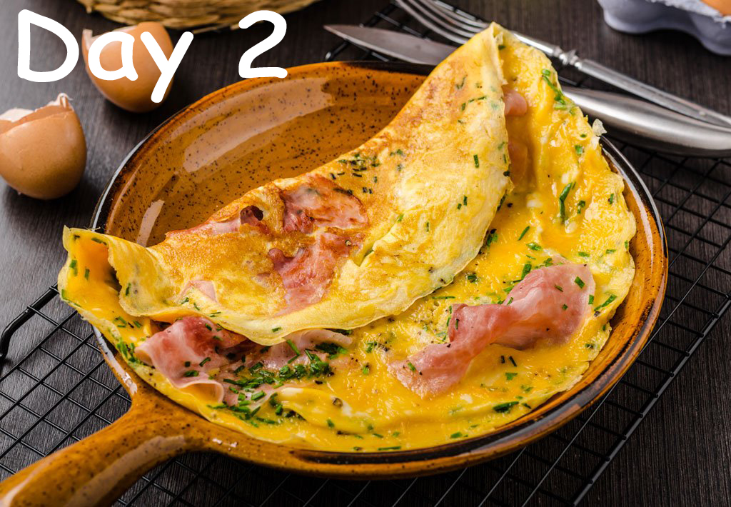 day 2 omelet - WomensByte