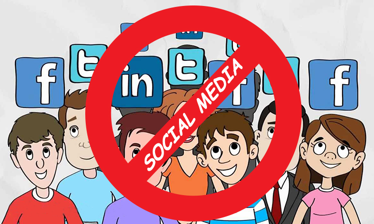 Avoid social media - WomensByte
