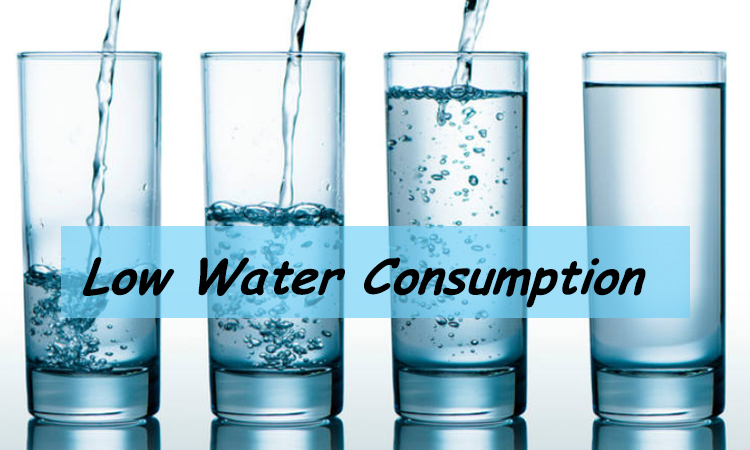 low-water-consumption