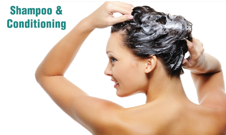 Shampoo and Conditioning - WomensByte