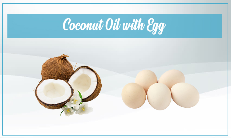 Coconut Oil With Egg