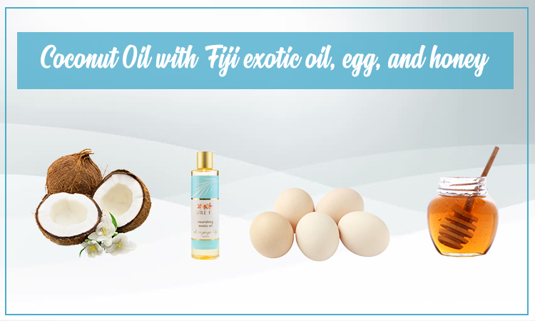 Coconut Oil With Fiji Oil