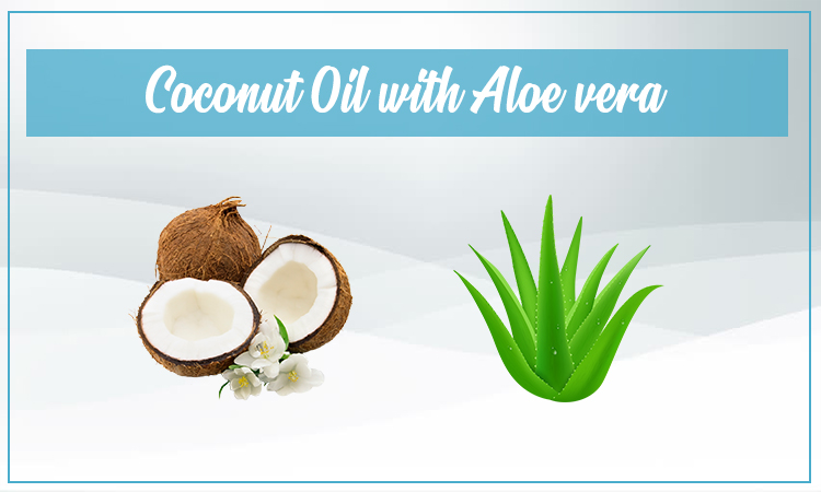 Coconut Oi With Aloe Vera