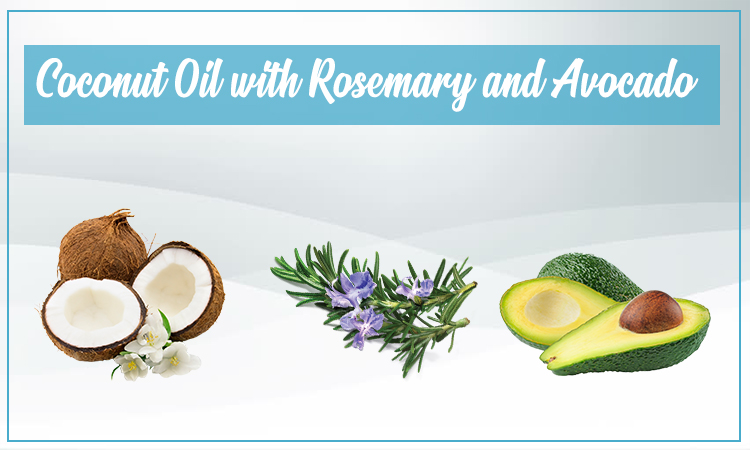 Coconut Oil with Rosemary and AvocadoCoconut Oil with Rosemary and Avocado