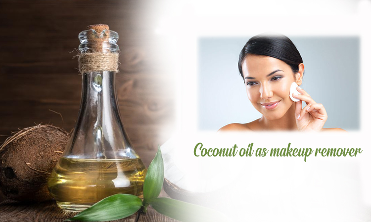 Coconut oil as a Makeup Remover