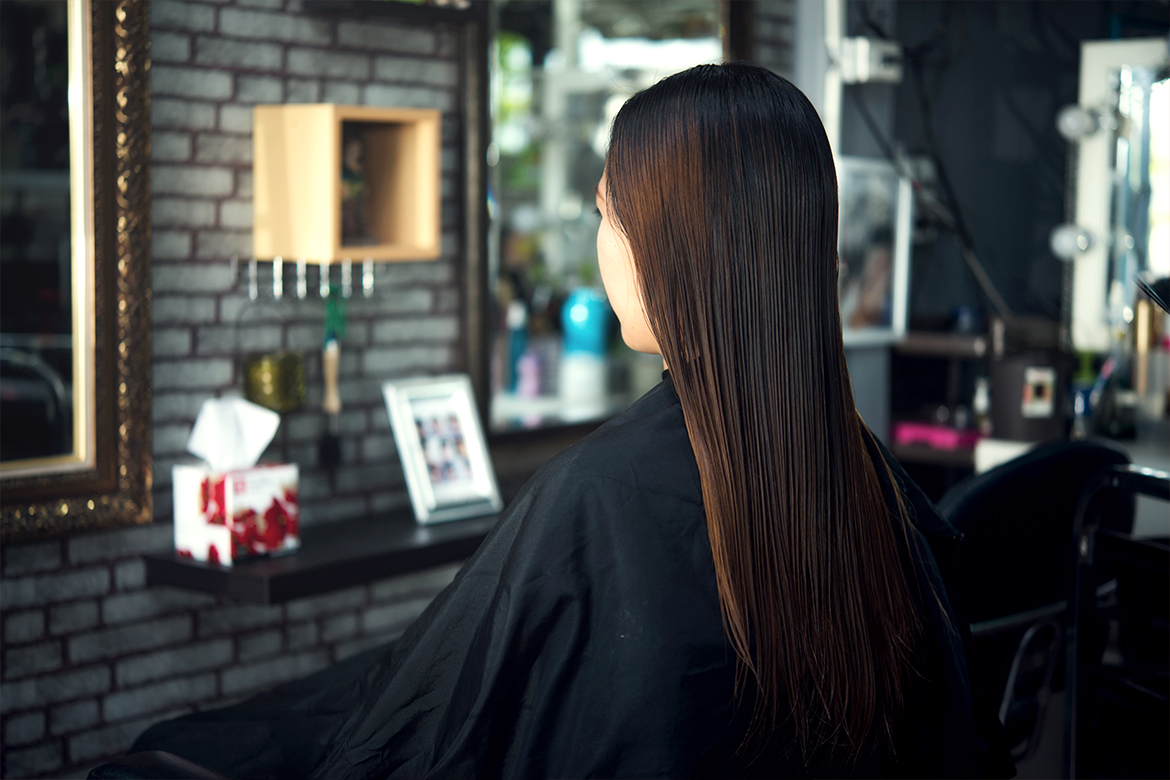 Keratin Treated Hair