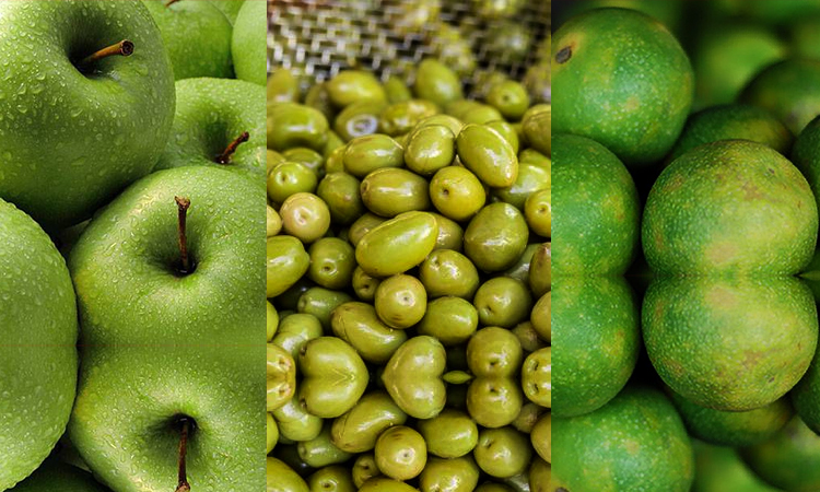 Green Apple Olives & Mosambi