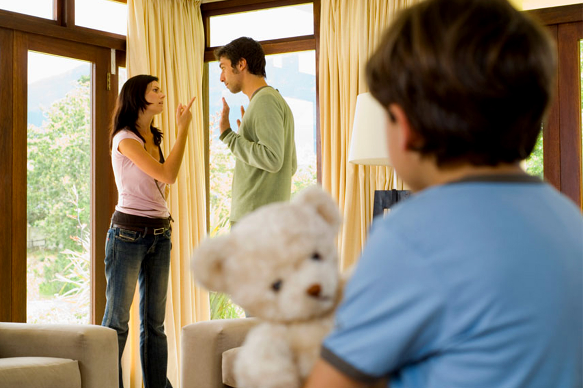 Parents Fighting Over Parenting Styles
