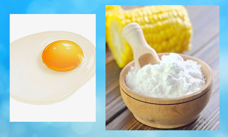 Egg and Corn Flour