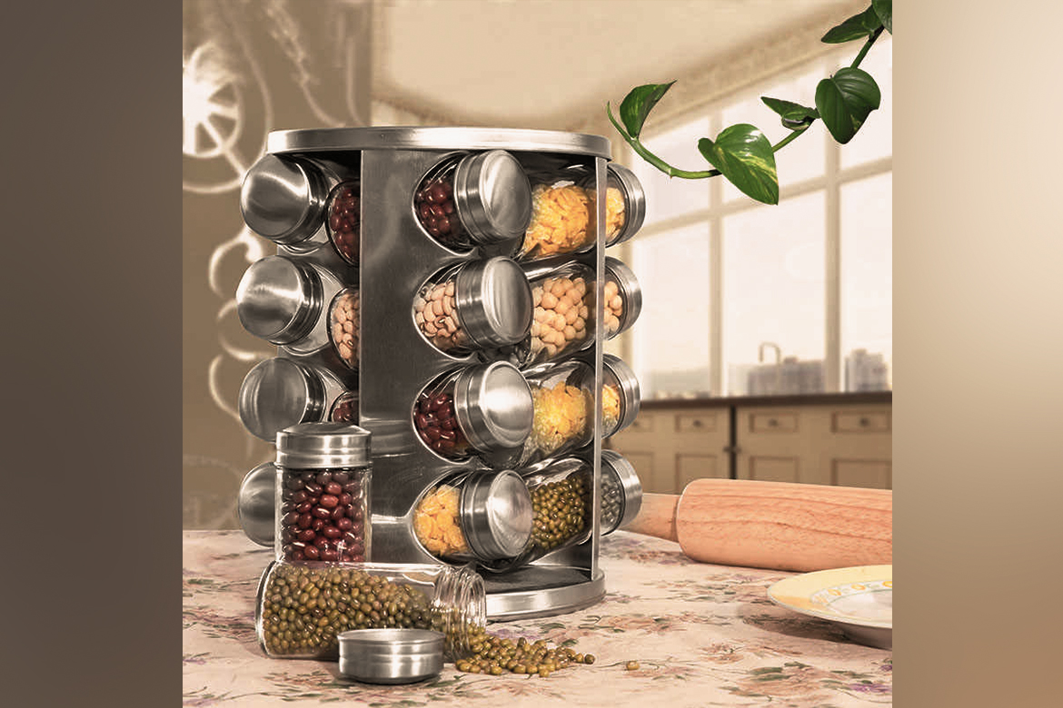 Spice Jar Sets Revolving
