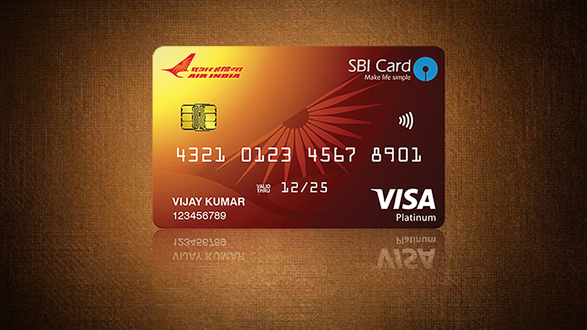 Air India SBI Platinum Card