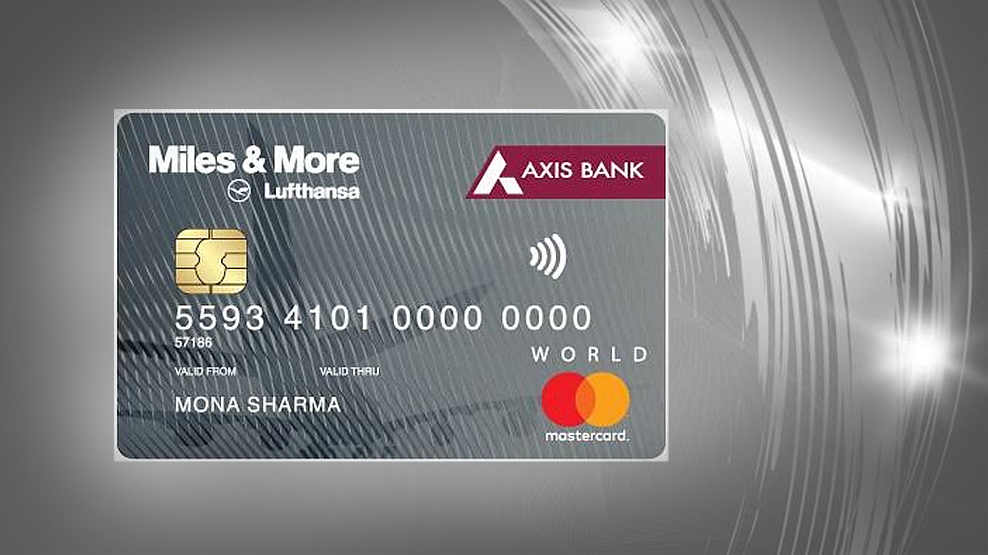 Axis Bank Miles & More World Credit Card