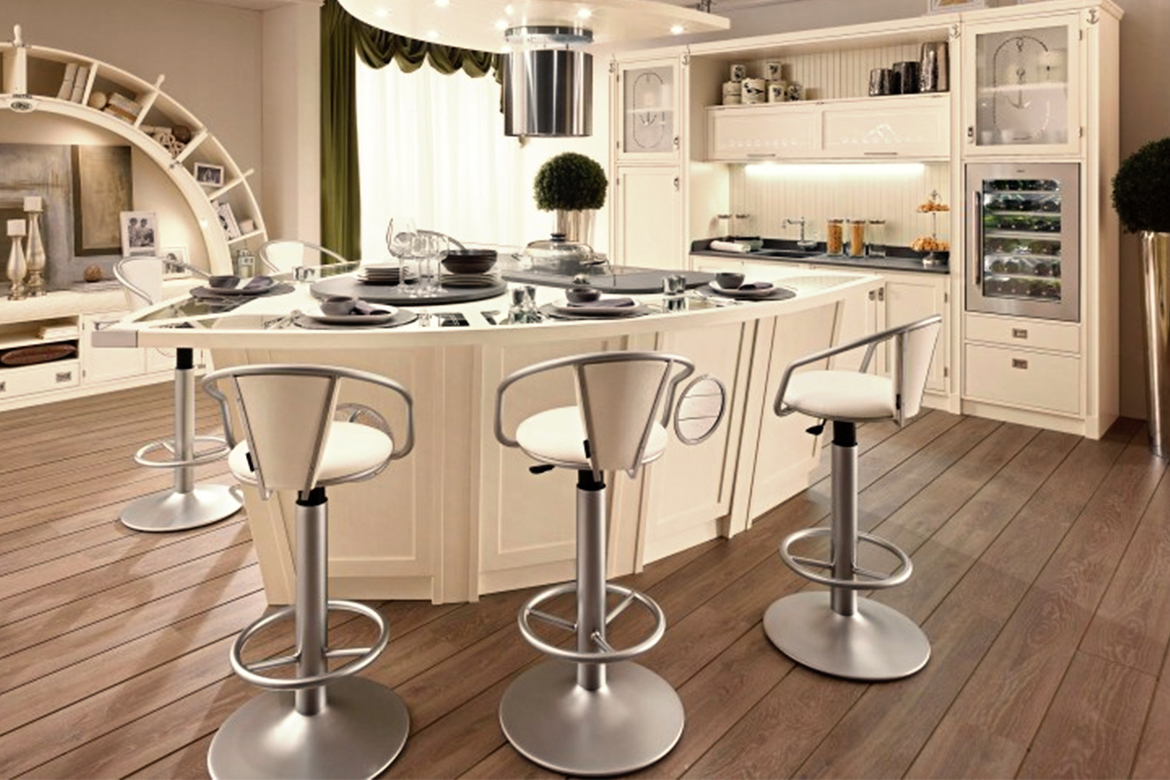 Metal Stools For Kitchen