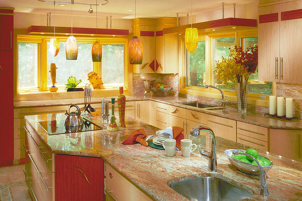Using Yellow Kitchen Decor Theme In A Small Space Womensbyte