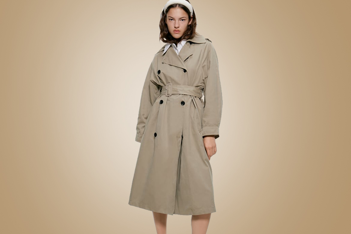 A-trench-coat