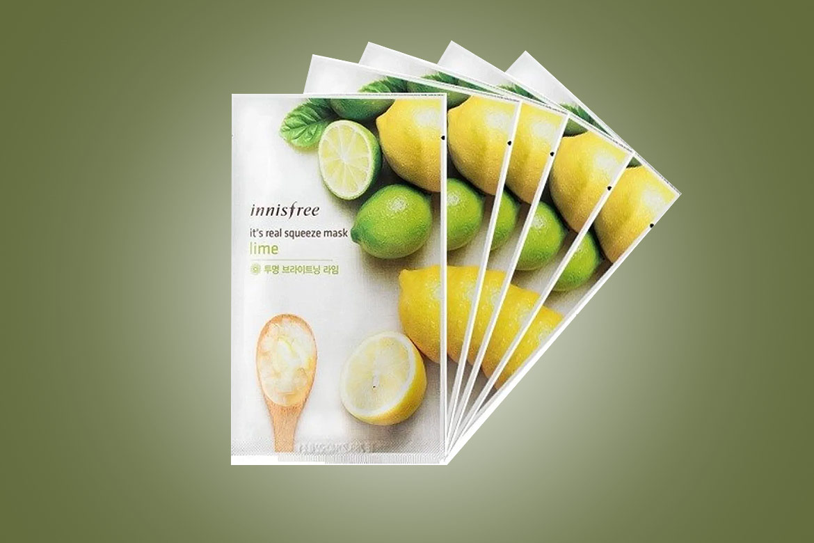 Innisfree-It's-Real-Squeeze-Mask---Lime