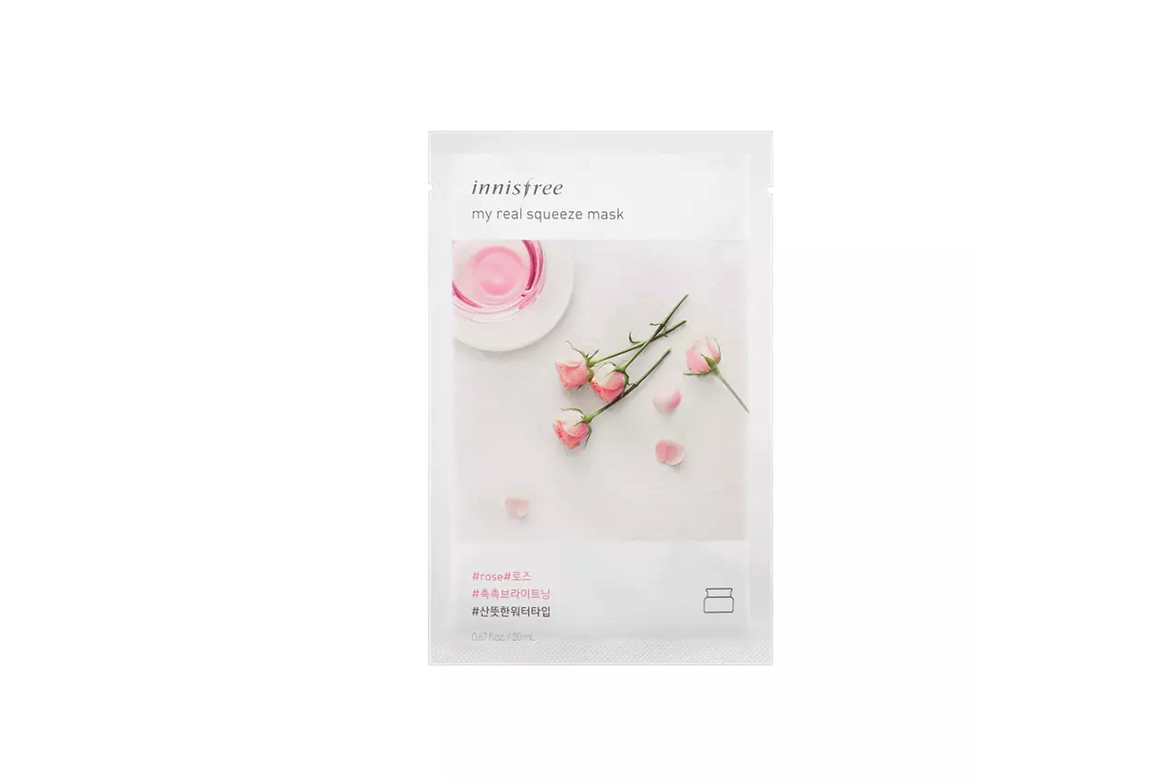 Innisfree-It's-Real-Squeeze-Mask---Rose