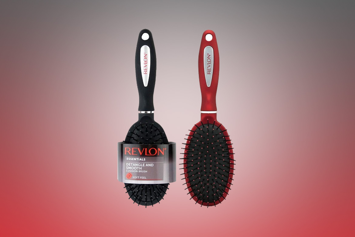 Revlon-Detangle-And-Smooth-Black-Cushion-Hair-Brush