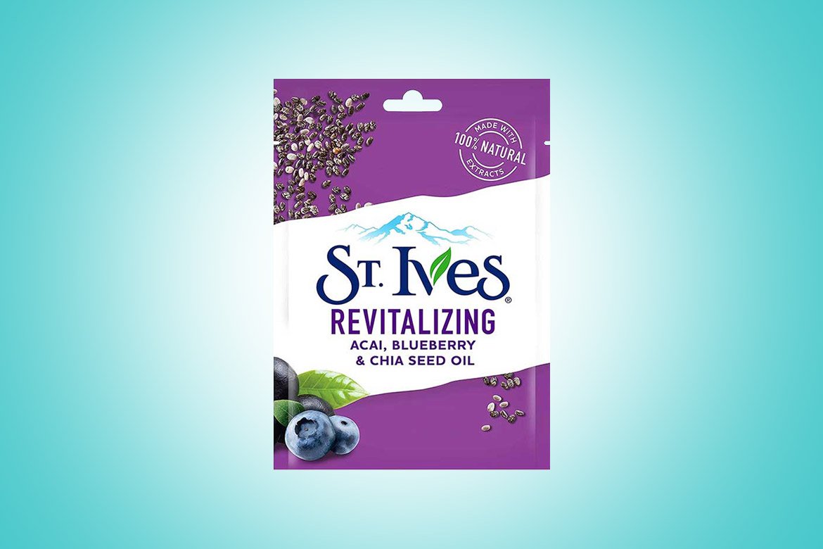 St.-Ives-Revitalizing-Acai-Blueberry-&-Chia-Seed-Oil-Sheet-Mask