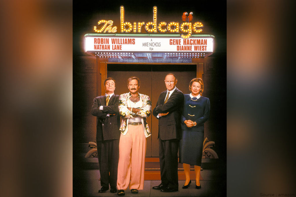 The Birdcage - WomensByte