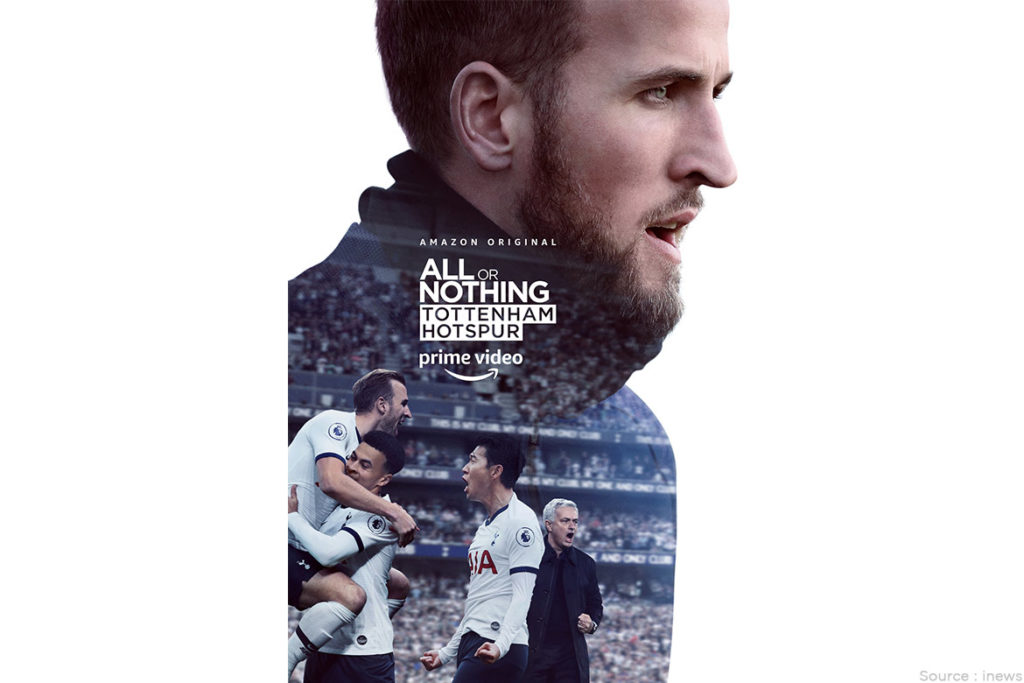 All or Nothing Tottenham Hotspur - WomensByte
