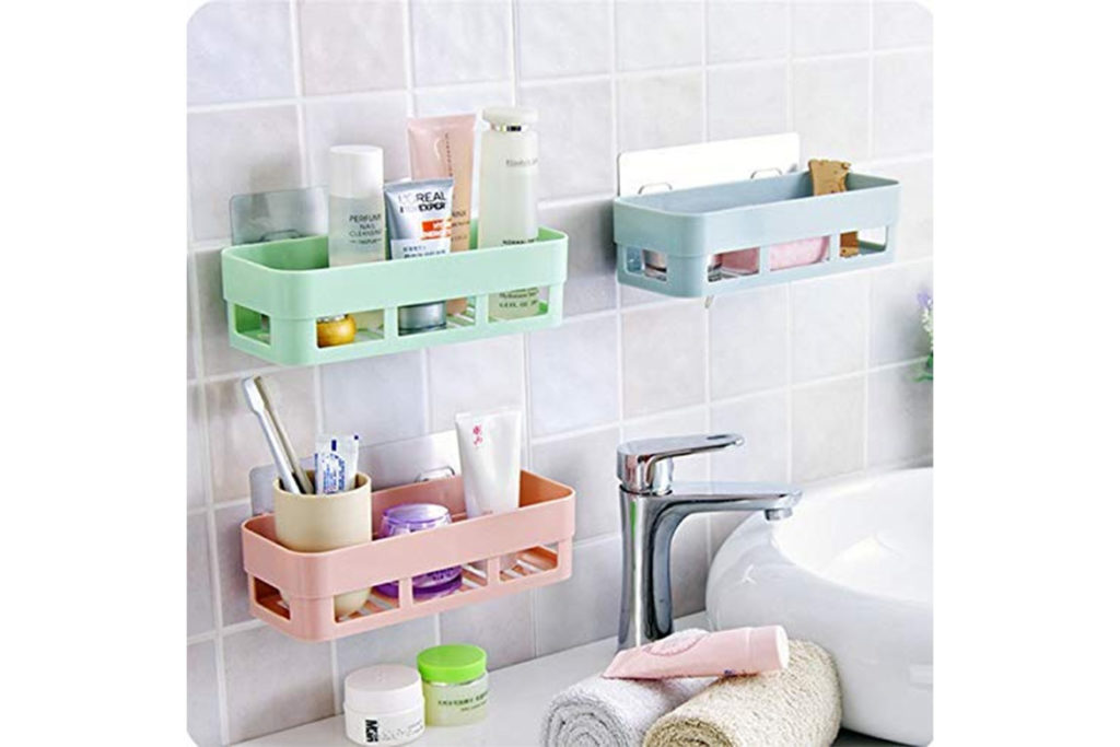 place to store things in the bathroom