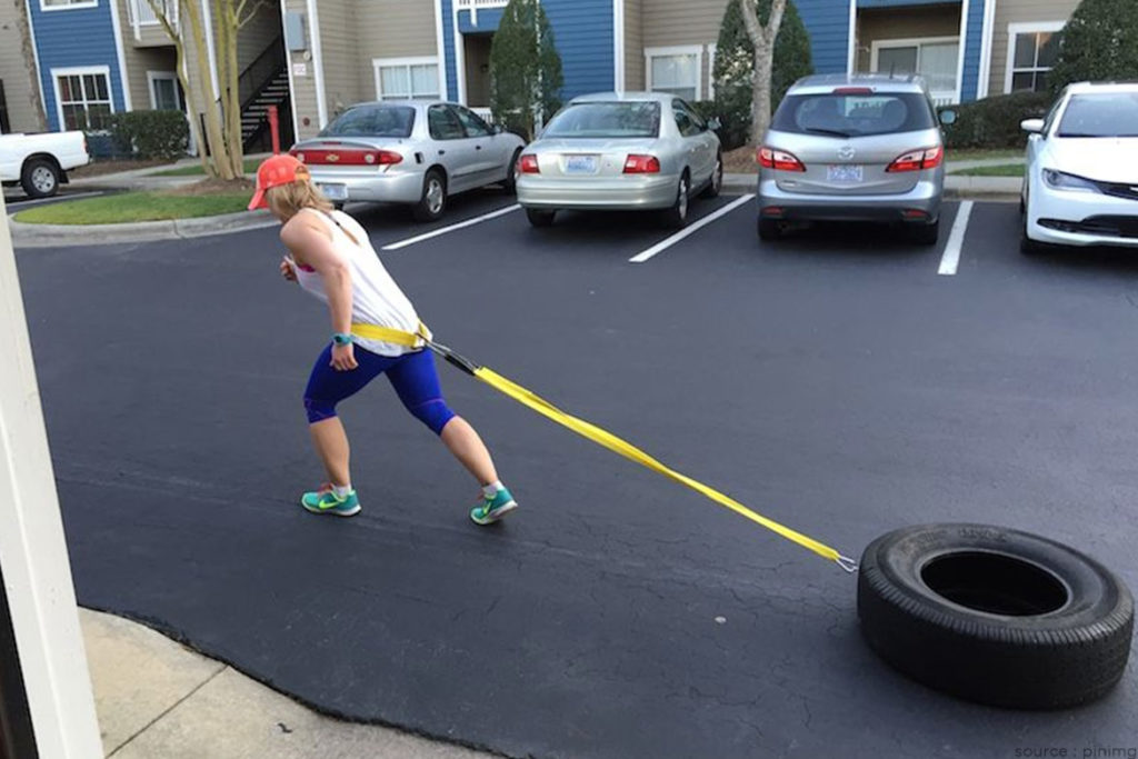 DIY Weight Sled