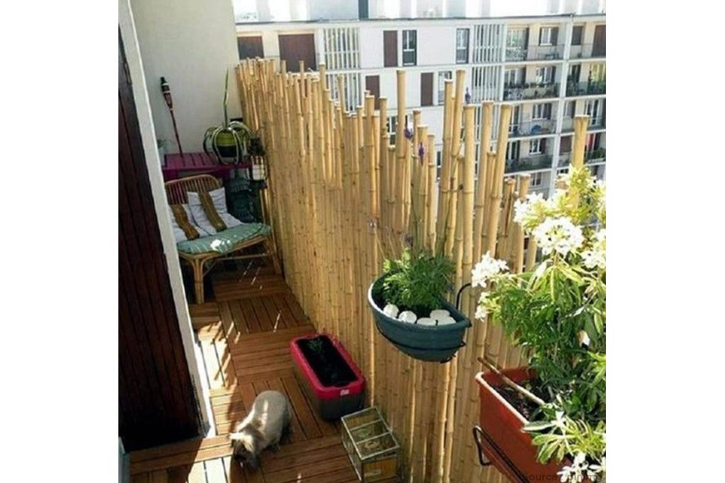 Use bamboos option for privacy - WomensByte
