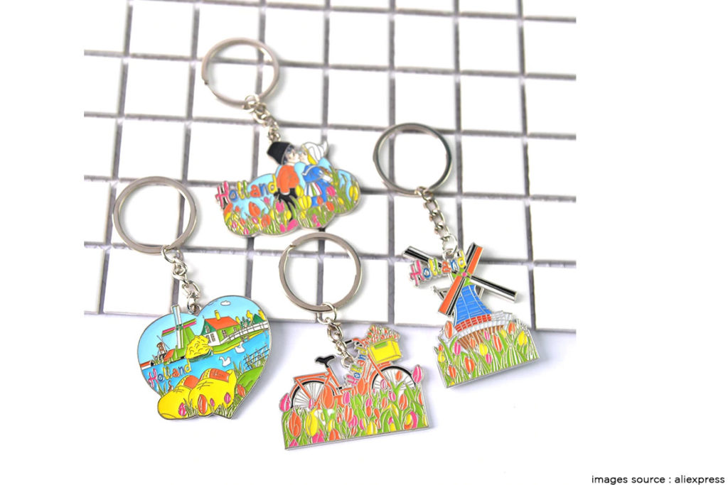 Colorful Key Chains