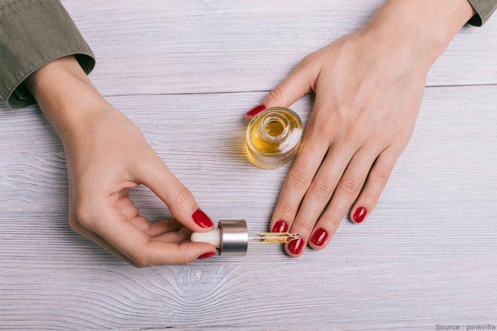 DIY Manicure With Cuticle Oil