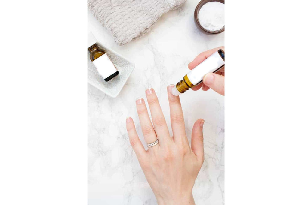DIY Manicure With Essential Oils